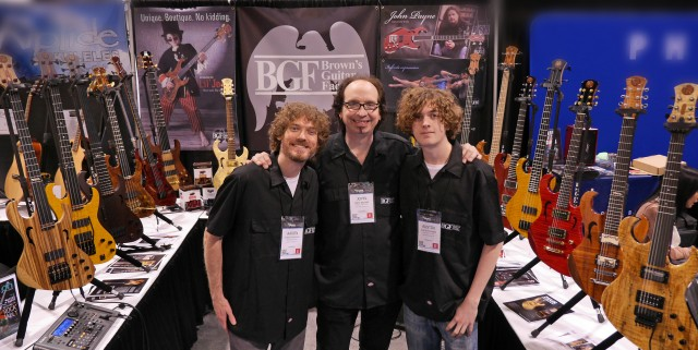 NAMM 2014 BGF Booth Action