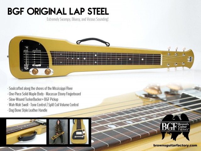 BGF Original Gold Lap Steel